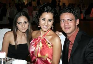 Karla Dabdoub Diz, Gabriela Herrera Silveyra y Alfredo García