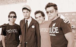 Marco Onofre, Sergio Rodríguez, Isidro Villegas y César Jiménez.