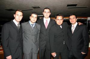 Gerardo Guajardo, Alejandro Marín, Jesús Pamanes, Michel Madrid e Isaac Pámanes