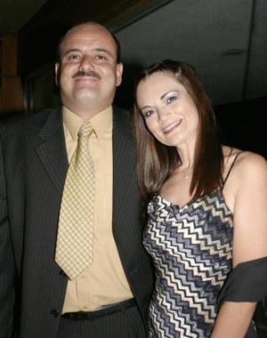 Emilio Chaúl y Cristina Pacheco de Chaúl.