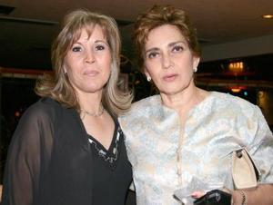 Martha Guerrero de Ganem y Elizabeth Ganem
