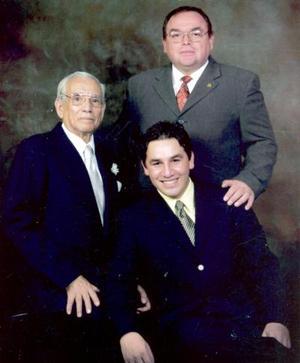 Vicente Treviño, Vicente Treviño Navarro y Vicente Treviño Reyes