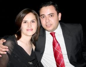 Oreana Corral y Alejandro Enríquez..