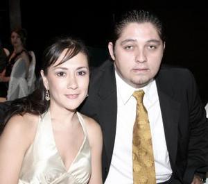 Diana Barrios y Julio Galván.