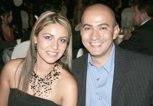 Giovanna Issa y Javier García.