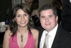 Lourdes Flores y Luis Xavier Bernal.
