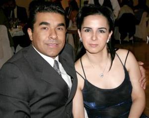 Miguel Ángel Villarreal y Lupita Becerra.