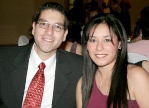 Rafael Rubio y Pamela Rascón.