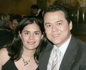 Rocío Reyes y Mauricio Rivera.