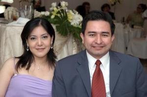 <b>19 de junio</b><p> Sandra Cabrera y Gustavo Torres.