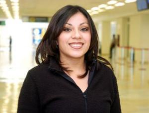 Judith García llegó procedente de Guadalajara