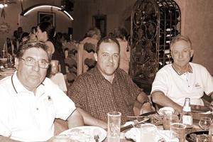 <b>20  de junio </b><p> Franco Nieto, Luis Moncada y Alejandro Elizondo.