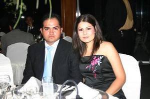 <b>20 de junio</b><p> Ricardo Michel y Janneth Casas Ramírez