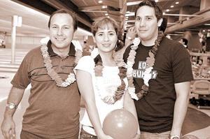 Héctor Villarreal, Celia Valenzuela y Daniel Labastida.