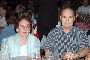 Esmeralda e Ignacio Obeso.