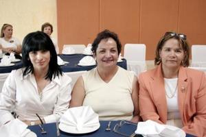 Raquel Jardón de Gutiérrez, Lety de Palacios y Blanca de Faccusseh