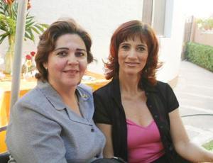 Aurora Salas de Martínez e Hilda Elena S. de Gabaldón.