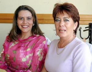 <b>23  de junio </b><p> Rocío Palafox y Ana María de  Gaytán.