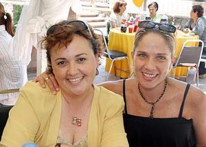 <b>24  de junio </b><p> Anna Vázquez y Laura Zuñiga.