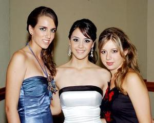 Ana Laura López, Paulina Giacomán y Malena Papadópulos.