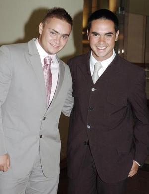 Iván Ortiz y Rodrigo González.