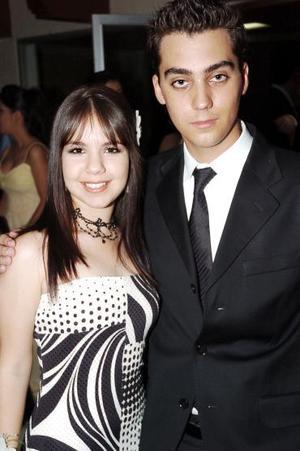 Martia Bitar y Luis Méndez