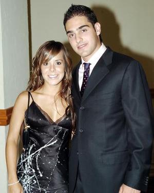 Mary Paz Argüello y Edelmiro Garza.