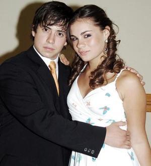 Nico Papadópulos y Christianne Reed.