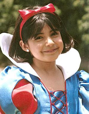 Andrea Barrón celebró su octavo cumpleaños, con una bonita fiesta infantil.