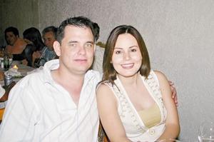 Alberto de la Rosa y Julia Montoya