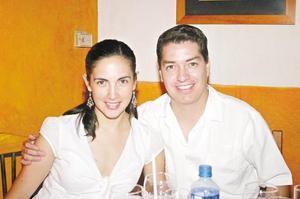 Bárbara Garza y Daniel Calvillo