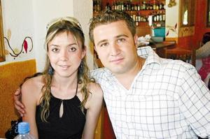 Liliana Fernández y Diego Fuentes