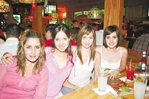Laura Orduño, Claudia Velasco, Lety Castro y Mirvat Jalil