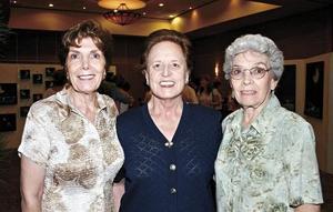 Matilde Ruenes, Mila Tricio y Anita Segura