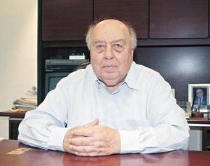 <I>ROSTRO DISTINGUIDO</I><P> Don Roberto Thomé.