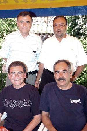 Agustín Anaya, Javier Amarante, Gerardo Martín, e Issac  González.