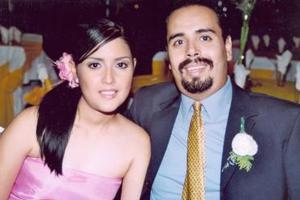Marcela Ayala y Armando Mercado