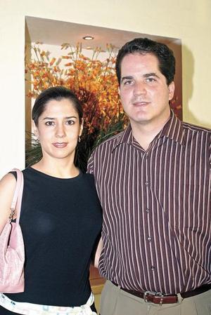 Lucía Ortega de Campos y Jesús Javier Campos.