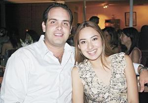 Elías Murra y Priscila Moreno.