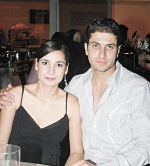 Lydia Martínez y Francisco Batarse.