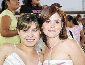 Rosetta y Anilú Urrutia.