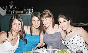Ileana Soto, Mari Carmen Milán, Nasia Gidi y Marcela Villarreal