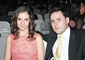 Sofía Pámanes y Ernesto Gómez