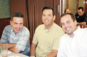 Sergio de Bello, Fernando Martinez y Jorge Pérez