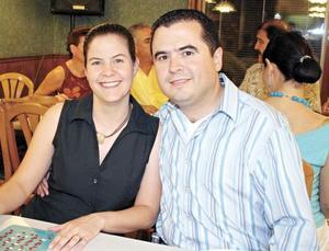 Nanette Abdo de Chapa y Jesús Chapa Cabrera