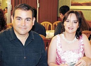 Heberto Villarreal y Rocío Fernández de Villarreal