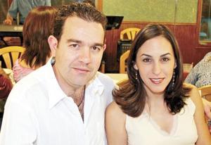 Gerardo Zarzar y Linda Fayad de Zarzar