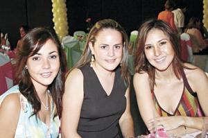 Dora Alicia Flores, Brenda Baille de Villalobos y Any Godina de Mexsen