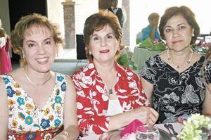 Odila Villarreal de Vargas, Evangelina M. de Aranda y Ana Laura A. de Rojas
