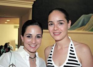 <I>Belleza en el arte<I><P> Lucila de González y Marcela de Leal